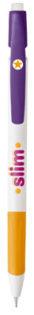 BiC Media Clic Grip Kugelschreiber - weiß/gelb