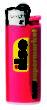 BiC J25 Feuerzeug Mini - rot