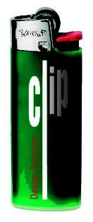 BiC J25 Feuerzeug Mini - grün