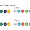 BiC Pivo Clip - Farben