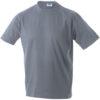 T-Shirt Werbung auf Round-T Heavy - grey heather