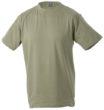 T-Shirt Werbung auf Round-T Heavy - khaki
