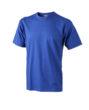 T Shirt Werbung auf Round T Heavy - dark royal