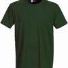Werbeartikel T Shirt Round Medium - dunkelgrün