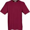 Werbeartikel T Shirt Round Medium - bordeaux