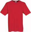 Werbeartikel T Shirt Round Medium - rot