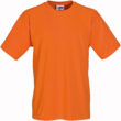 Werbeartikel T Shirt Round Medium - orange