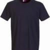 Werbeartikel T Shirt Round Medium - navy