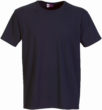 Werbeartikel T Shirt Round Medium - navy