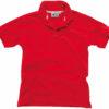 Werbeshirt Damen Polo Pique Slazenger - rot