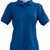 Werbeshirt Damen Polo Pique Slazenger - classic royalblau