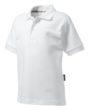 Werbemittel Poloshirt Pique für Kinder - weiß