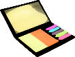 Sticker Note Heftchen