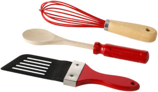 Küchenhelfer Set 3-teilig