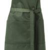 Bistroschürzen - dunkelgrün
