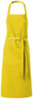 Bistroschürzen - gelb