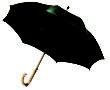 Werbemittel Schirme - grün
