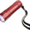 Taschenlampe in rot