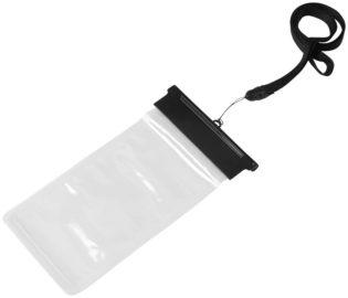 Handytasche Splash wasserdicht - schwarz/transparent