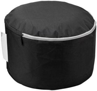 Jamaica Sitzkissen - schwarz vonoben
