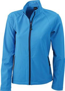 Werbemittel Softshell Ladies Jacket - azur