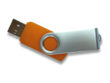 USB Stick Twister ohne Schlüsselring - orange PMS 021C