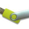 USB Stick Twister ohne Schlüsselring - limettengrün PMS 388C