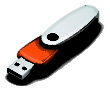 USB Sticks Werbeartikel Rotate - USB Sticks inorange