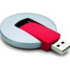 Werbeartikel USB Stick Circular - USB Stickin rot