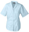 Werbemittel Bluse Business kurzarm - lightblue
