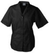 Werbemittel Bluse Business kurzarm - black