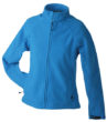 Werbeartikel Jacke Ladies Bonded Fleece - aqua/navy