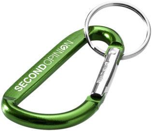 Werbeartikel Schlüsselanhänger mit Karabiner