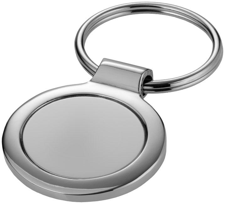 Werbeartikel Schlüsselanhänger rund