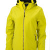 Wintersport Jacket Ladies James and Nicholson - yellow