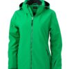 Wintersport Jacket Ladies James and Nicholson - green