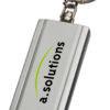 Werbeartikel LED Schlüssellicht - Schlüssellichtsilberfarben