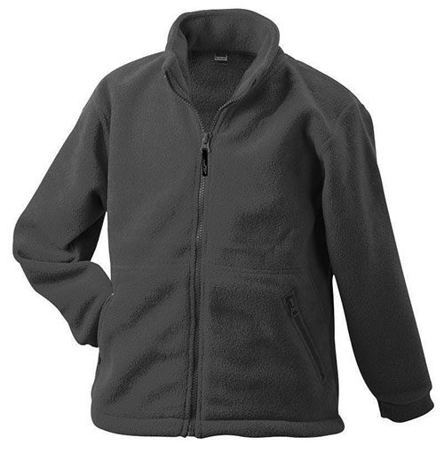 Werbeartikel Fleece Jacken James Nicholson - darkgrey