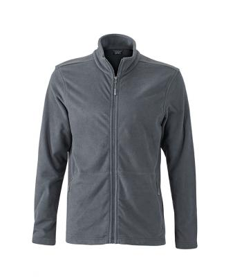 Fleecejacken Mens Basic - carbon