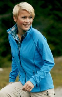 SlazengDamen Fleece Jacke Structureer Damen Fleece Jacke