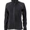 SlazengDamen Fleece Jacke Structureer Damen Fleece Jacke - black/carbon