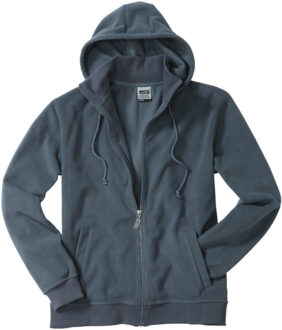 Mikro Fleece Zip Hooded Jacket