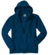 Mikro Fleece Zip Hooded Jacket - navy