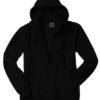 Mikro Fleece Zip Hooded Jacket - black