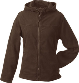 Mikro Fleece Zip Damen Jacke