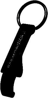 Werbemittel Schlüsselanhänger mit Flaschenöffner