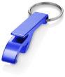 Werbemittel Schlüsselanhänger mit Flaschenöffner - in blau