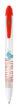BiC Wide Body Werbekugelschreiber - BiC Wide Bodygefrostet weiß