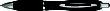 Werbekugelschreiber Mandarine - Werbekugelschreiber inschwarz/chromfarben