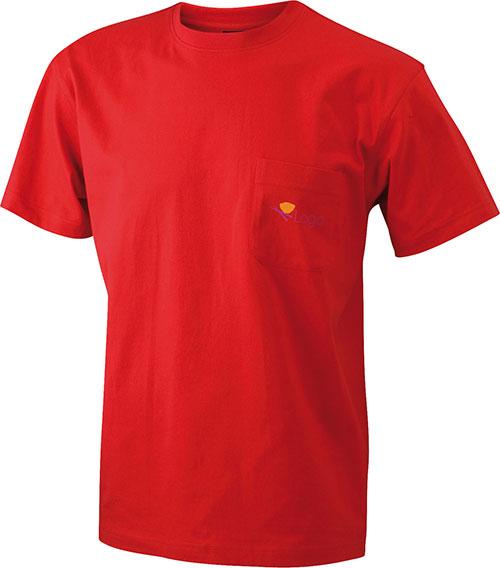 Mens Round-T Pocket T-Shirt